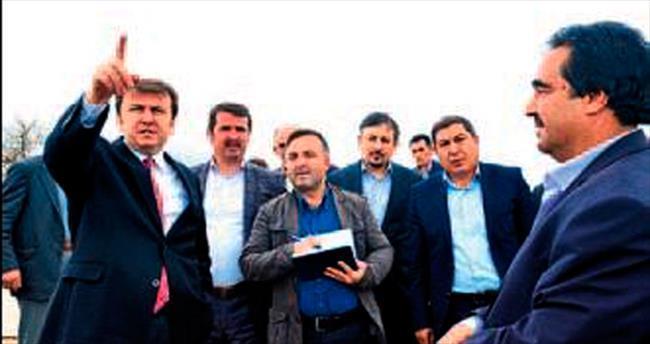 Erkoç: Türkoğlu'nun sorunları çözülecek