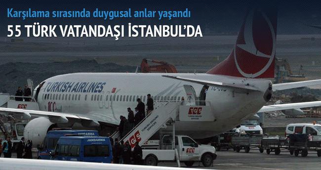 55 Türk vatandaşı İstanbul'da