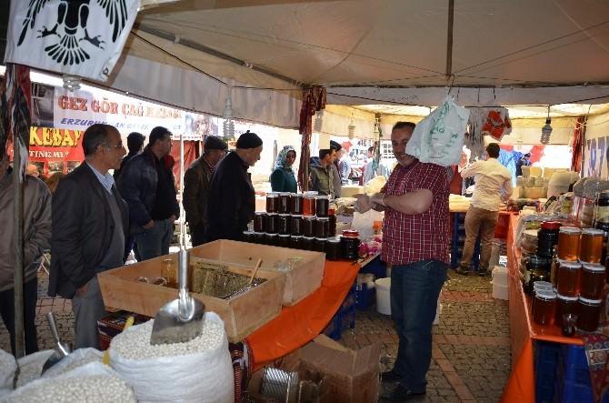 Erzurum'un Doğal Lezzetleri Eskişehirlilerin Beğenisine Sunuldu