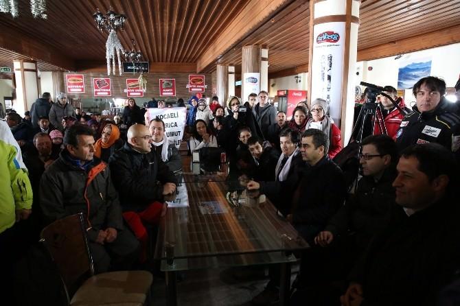 Engelliler, Festival İçin Erciyes'te Buluştu