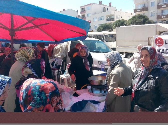 Lapseki MHP İlçe Teşkilatından Kermes