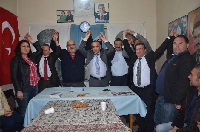 DSP, Manisa Milletvekili Adaylarını Akhisar'da Açıkladı