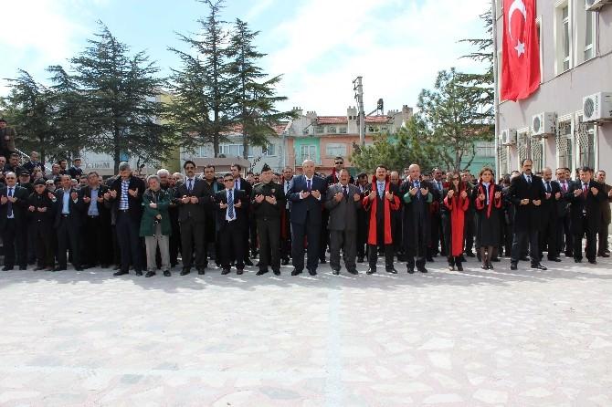 Bolvadin'de Savcı Kiraz İçin Anma Etkinliği Gerçekleştirildi