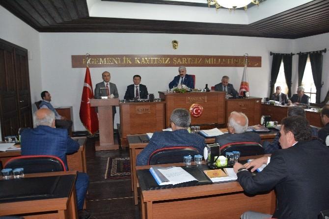 Rektör Orbay İl Genel Meclisi'nde Konuştu