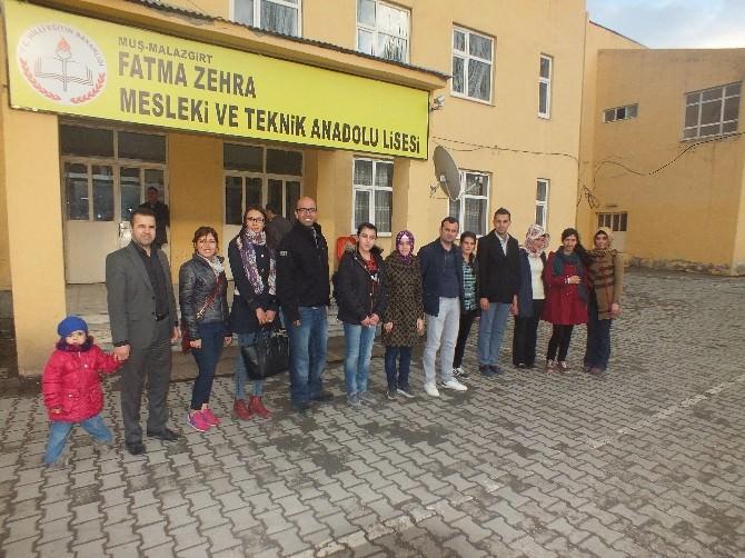 Fatma Zehra Mesleki Ve Teknik Anadolu Lisesi Öğrencileri Estonya Yolcusu