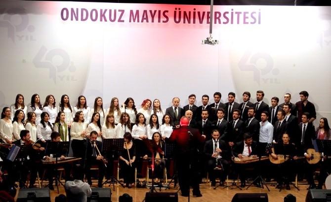 OMÜ Türk Sanat Müziği Topluluğu'ndan Konser