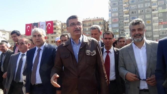 """""""11 Nisan Şehir Parkı"""" Temel Atma Töreni Ertelendi"""