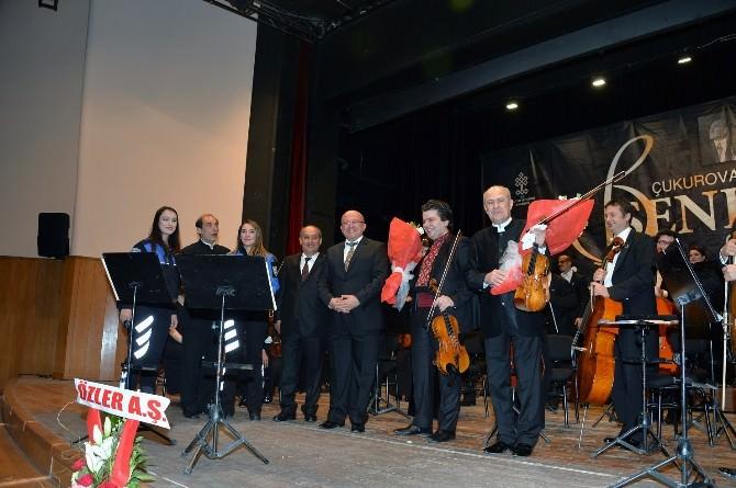 Çukurova Devlet Senfoni Orkestrası'ndan Polis Teşkilatına Müzik Ziyafeti