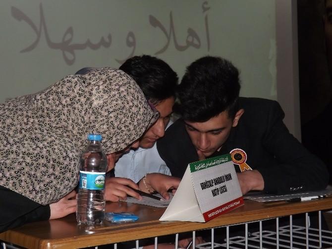 Van'da Arapça Bilgi Yarışması