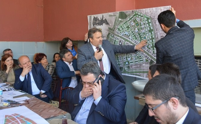 Başkan Çerçi Vatandaşlarla Buluştu