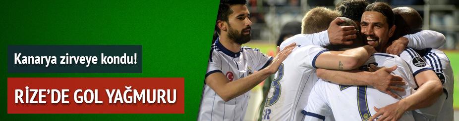 Çaykur Rizespor Fenerbahçe maçı özeti ve golleri — (GENİŞ-ÖZET)