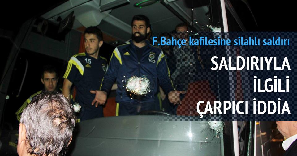 Fenerbahçe'ye pompalı saldırı!
