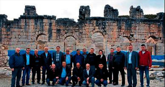 Müsiad üyelerinin Gölhisar ziyareti