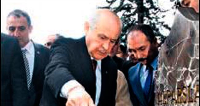 MHP'nin kurucusu Alparslan Türkeş anıldı