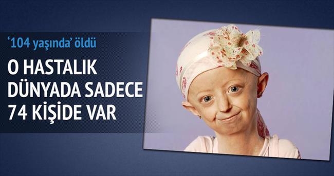O kız '104 yaşında' öldü