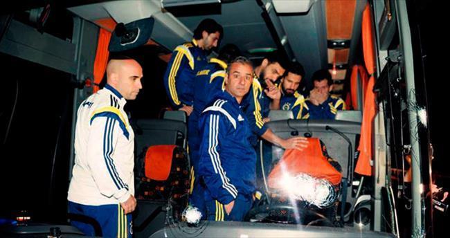 Fenerbahçe'ye silahlı saldırı
