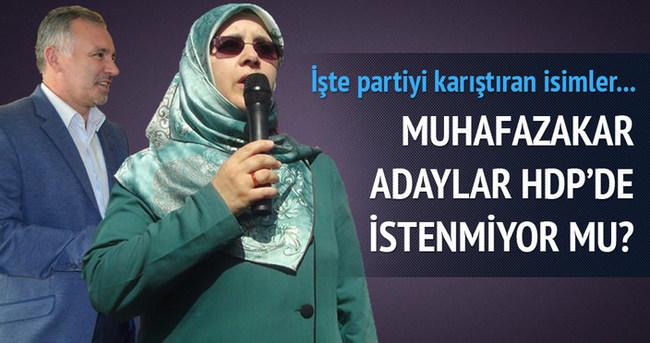 HDP'de adaylar belli oldukça ortalık karışıyor