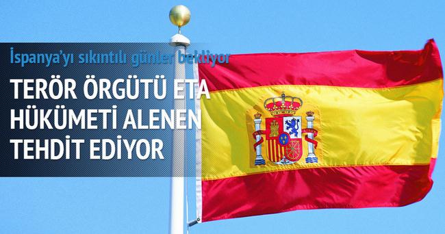 İspanya'daki ETA örgütü hükümeti tehdit ediyor