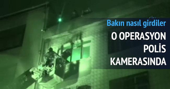 DHKP-C operasyonu polis kamerasında