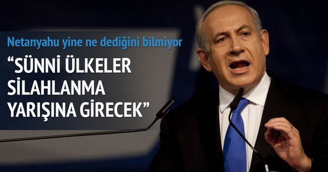 Netanyahu'dan kin dolu söylem