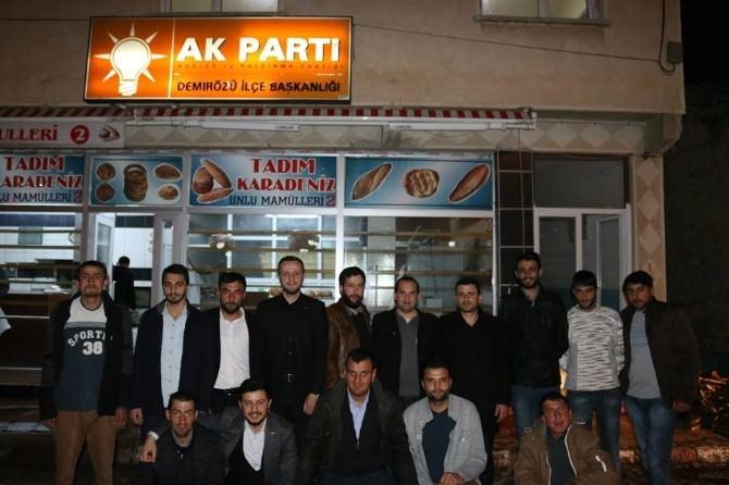 Bayburt AK Parti Gençlik Kollarından Demirözü İlçesine Çıkarma