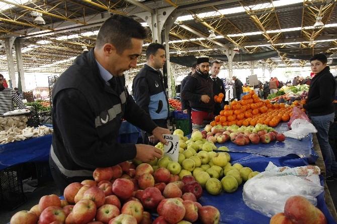 Bayraklı'da Gıda Ve Etiket Denetimi Devam Ediyor