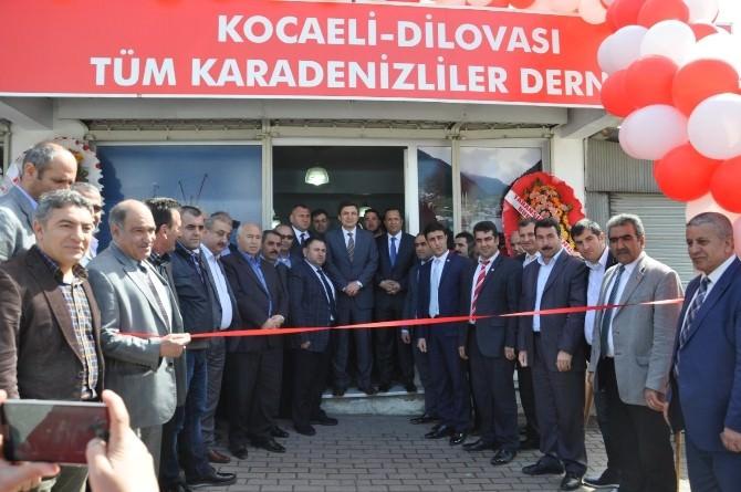 Dilovası Tüm Karadenizliler Derneği Açıldı