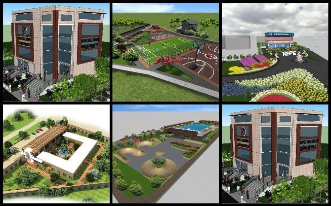 Kepez'in Vizyon Projelerinin İnşası Başlıyor