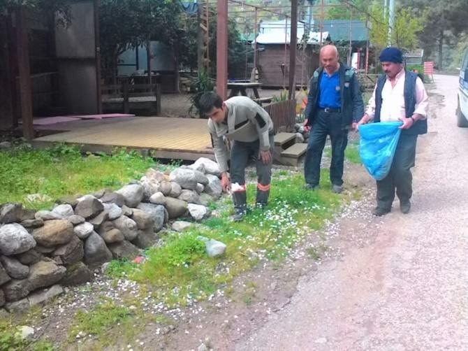 Kumluca Belediyesi Olimposu Temizledi