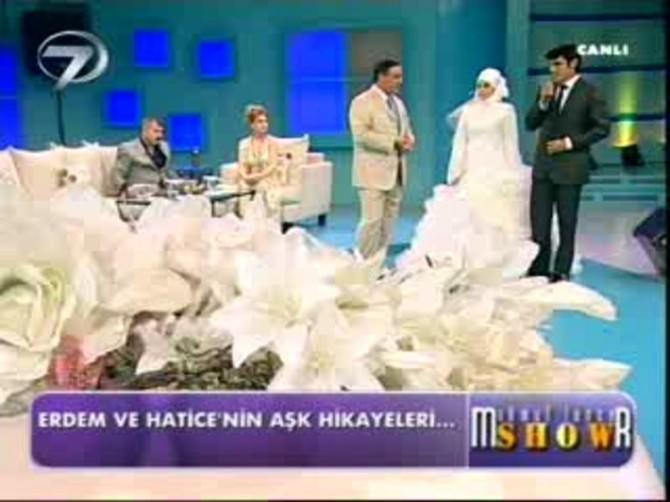 (Özel) TV Programında Evlenen Çiftin Yürek Burkan Dramı
