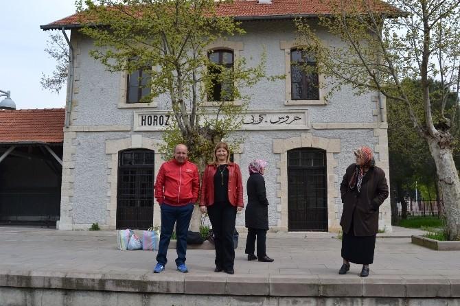 Tarihi Tren İstasyonu Kültür Ve Sosyal Amaçlı Kullanılacak