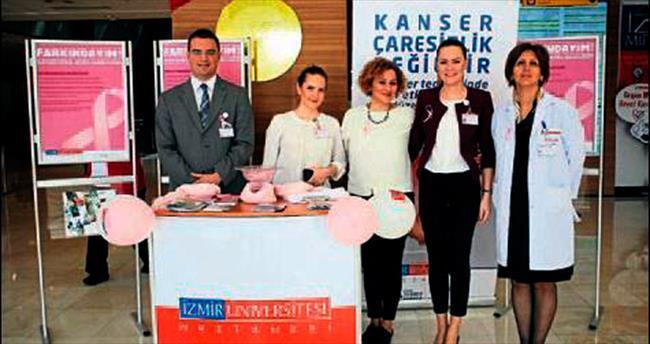 İzmir Üniversitesi kanserle savaşıyor