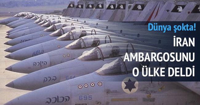 İran ambargosunu İsrail deldi