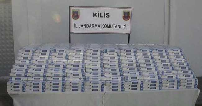 Kilis'te kaçakçılara operasyon