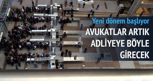 İstanbul Adliyesi'ne 'akıllı kimlik kartı' ile girilecek