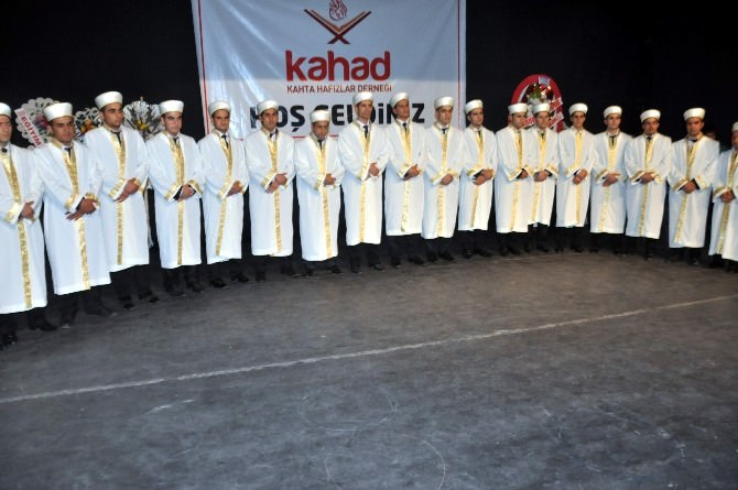 Kahta'da İcazet Töreni