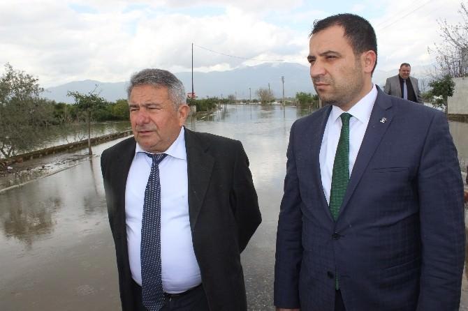 """AK Parti İlçe Başkanı Sümer: """"CHP, Yağmurdan Selden Bile Medet Umar Hale Geldi"""""""