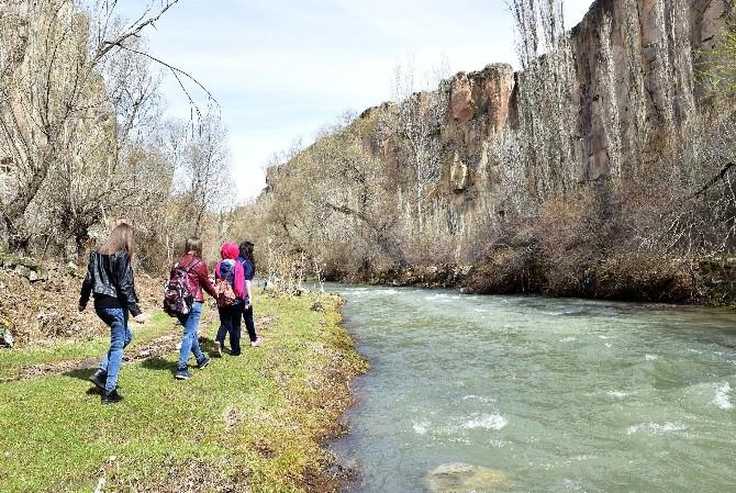 Atatürk Anadolu Lisesi'nden Doğada Eğitim Projesi