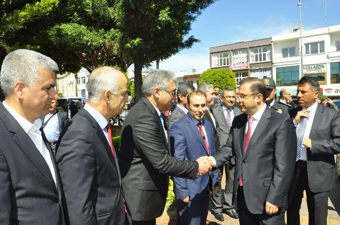 Vali Türker, Manavgat'ta İncelemelerde Bulundu