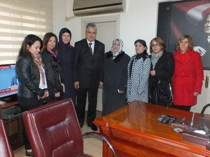 Edremit MHP Kadın Kolları Ziyaretlere Başladı