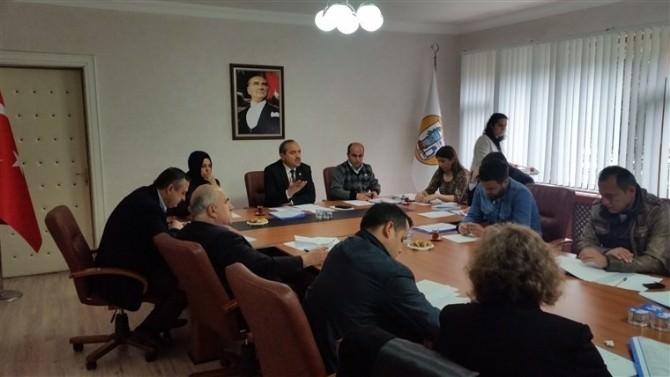 Ulus Belediye Meclis Toplantısı Yapıldı