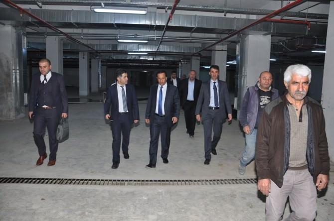 Başkan Toltar Kültür Merkezini İnceledi