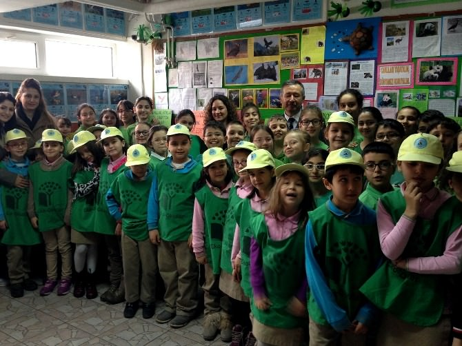 Eko-okullarda Yeşil Bayrak İçin Denetim Heyecanı