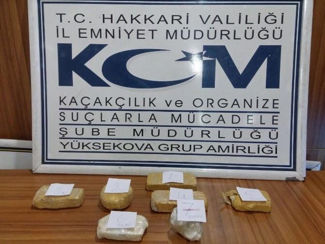 Yüksekova'da 2 Kilo Kokain Ele Geçirildi