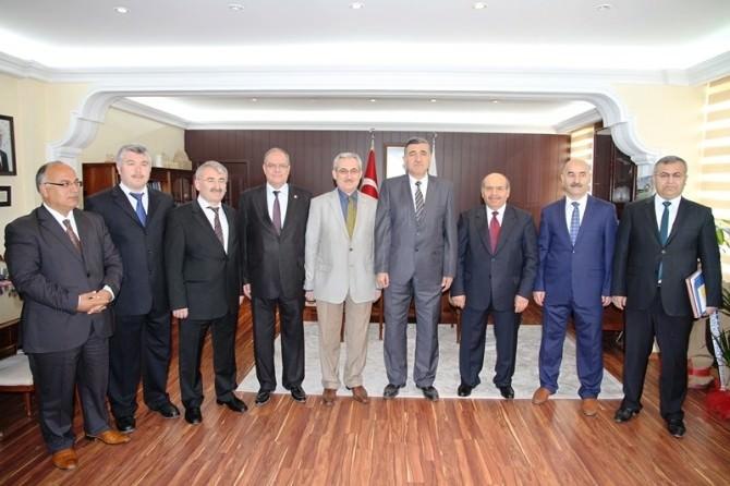 Yeni Rektör Prof.dr. Ramazan Taşaltın Göreve Başladı