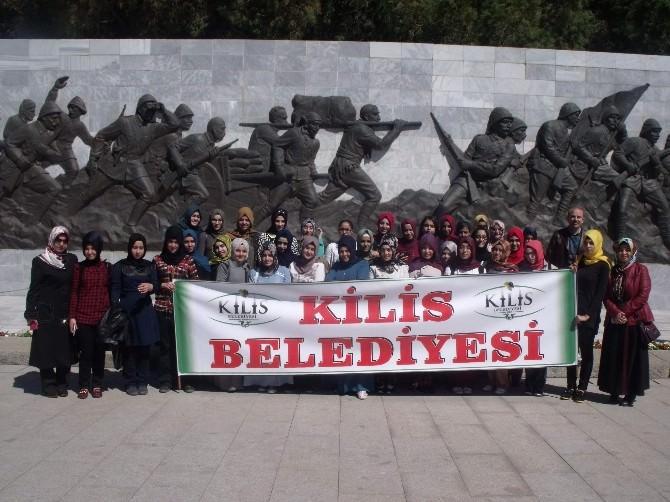 Kilis Belediyesi'nden İmam Hatip Lisesi Öğrencilerine Çanakkale Gezisi
