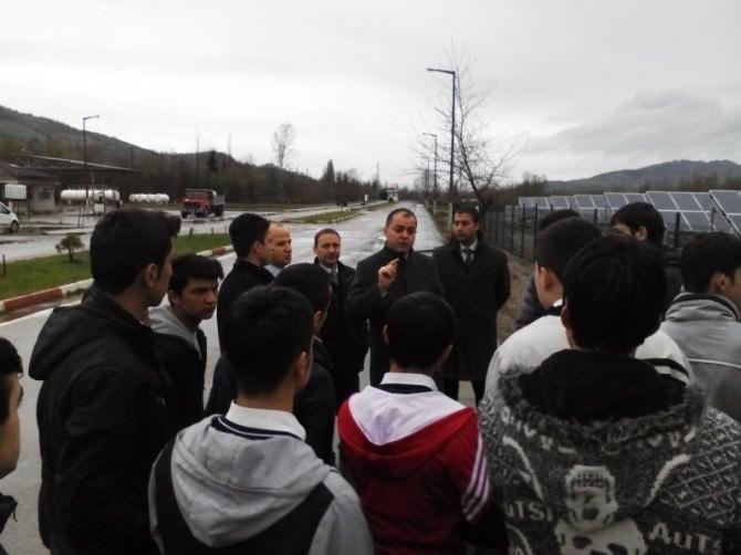 Öğrenciler 'Yenilenebilir Enerji Kaynaklarını' Yerinde İnceledi