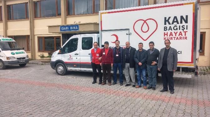 Malet Çalışanlarından Kan Bağışı