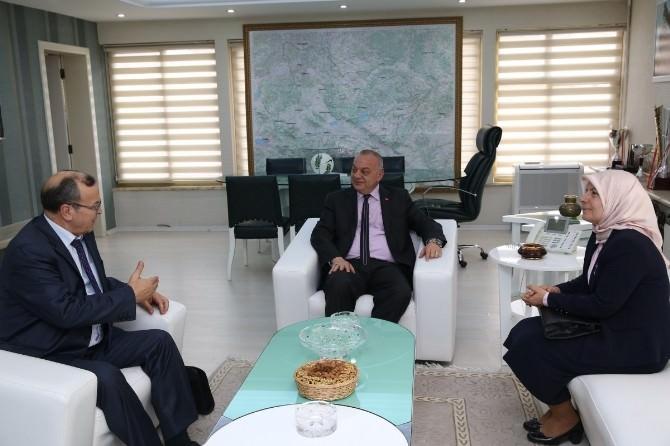 Selçuk Ve Bülbül'den Başkan Ergün'e Ziyaret