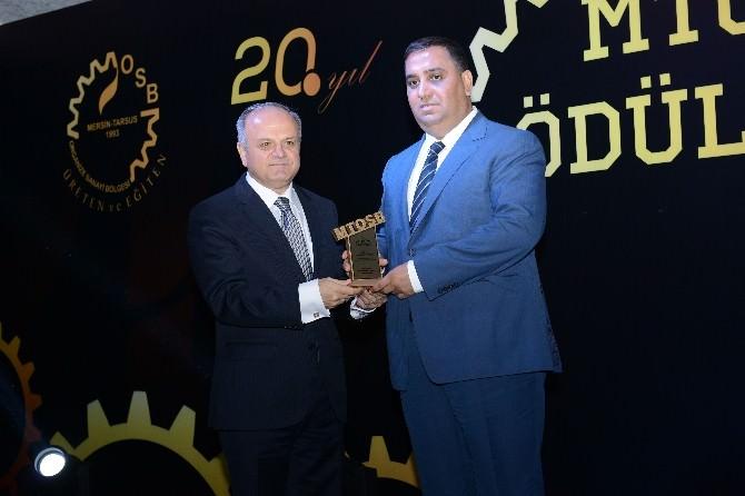 Başkan Can'a Emek Ödülü